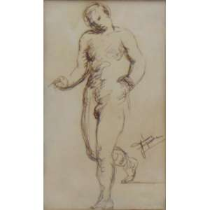 Figueira,Joaquim - S/T - Téc. mista sobre papel - Ass. CID - 17 x 10 cm.