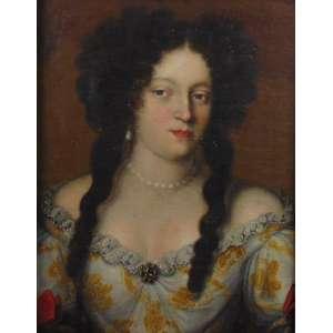 JACOB FERDINAD VOET - (1639- 1689) Atribuído - Figura feminina - OST - 51 x 39 cm. Pintor de retratos flamengo. Ele teve uma carreira internacional, que o levou à Itália e à França, onde fez retratos para uma clientela de elite. Voet é considerado um dos melhores e mais elegantes pintores de retratos do barroco tardio