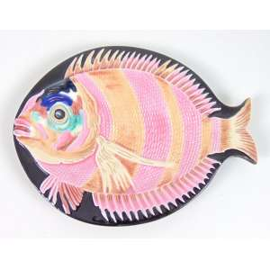 Peixe Faiança - 23 x 18 cm.