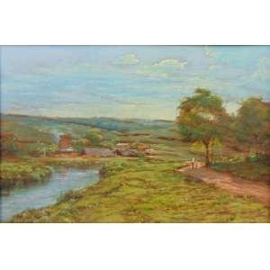 DIOGENES CAMPOS AYRES - Paisagem - OSM - 32 x 48 cm.