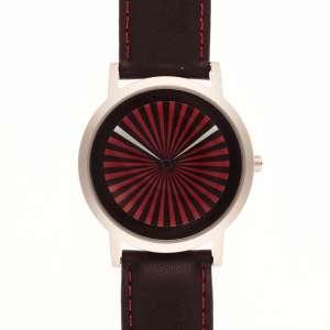 Projects Watches Turbino by Daniel Will-Harris - Caixa e fecho e aço. Cerca de 38,5mm de diâmetro. Pulseira de couro. Movimento a quartzo. Visor de cristal. Acompanha estojo. Obs.: Novo/Sem uso. Funcionando.
