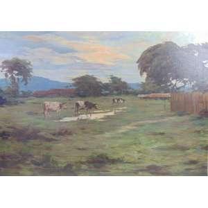 Antonio Godoy - Cena Rural - OST - CIE - (sem moldura) 68 x 96 cm.