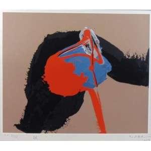 MABE - Abstrato - Gravura/CID - Dat 1989 - P.A XV/XVI - 42 x 49 cm.