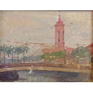 Azeredo Coutinho - Ponte no canal do mangue - OSM CID - 19 x 24 cm.
