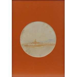 HENRIQUE GOLDSMITH - Pedra Interoi - AQUARELA - CIE - 14,0 Diâm