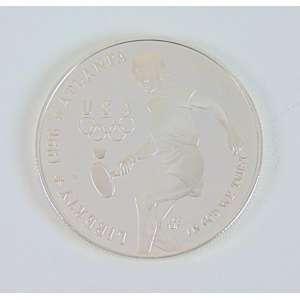 Medalha de Tênis Comemorativa a Olimpíada de Atlanta 1996 , em prata de lei , acompanha seu estojo