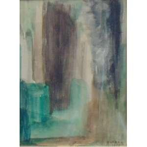 FLEXOR - S/T - aquarela - ass. cid - 1959 - 11x8 cm.