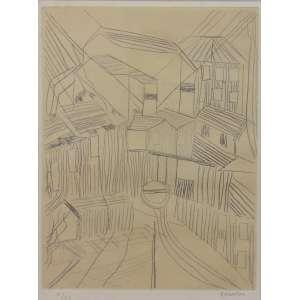 BONADEI - Casario - gravura em metal - X/XX - ass. cid - 34x26 cm.