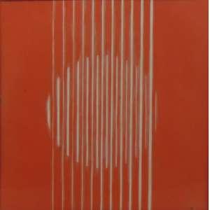CHAROUX - S/T - serigrafia - 12/20 - ass. cid - 1972 - 31x31 cm.