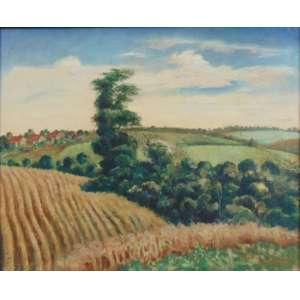 Osir, Paulo Rossi - Paisagem - OST - ass. cid - 1938 - 50 x 61 cm.