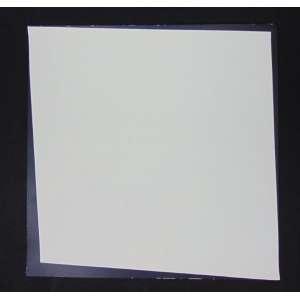 BARSOTTI - Composição Branco e Preto - serigrafia - P.I. II/X - ass. verso - 70x70 cm - não emoldurada - leve mancha na lateral direita.