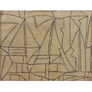 BONADEI - S/T - pincel atômico s/ papel rústico - ass. cse - 1966 - 26x34 cm.