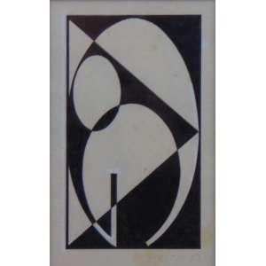 RAIMO - S/T - téc. mista - ass. cid - 1951 - 16x11 cm.