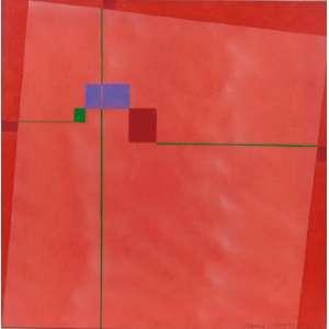 Mauricio Nogueira Lima - Sem Título C, da série Urbis - IAB - ass. cid - 1992 - 50 x 50 cm.