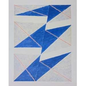 Volpi - Composição geométrica - Serigrafia - ass. CID - H/C - IX/XIV - 73x55 cm - Não emoldurada - pequenas manchas amareladas no paspatur da gravura