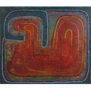 Montez Magno - Sem título - OST - Ass. centro inferior - 1957 - 48 x 56 cm.