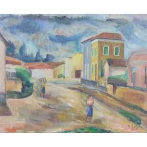 Raphael Galvez - Canindé - OSC - ass. cid - 1947 - 34 x 50 cm.