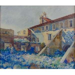 Osir, Paul Rossi - Conceição de Itanhaém - Aquarela - ass. cie - 1921 - 40 x 47 cm.