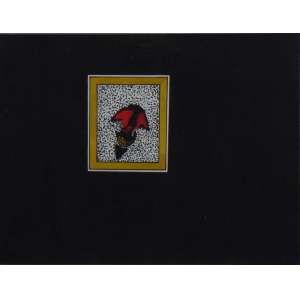 Artur Barrio - Sem título - Nanquim e guache sobre cartão - Ass. Dat. 1972 - 24 x 32 cm.