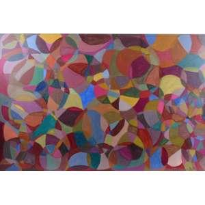 RENATO MAIA - As cores não se repetem - AST - ass. cid - 2020 - 80x120 cm