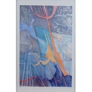 Renina Katz - Sem título - Litografia - 198/200 - Ass. dat. 1987 - 53 x 34 cm.