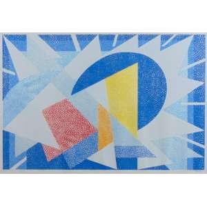 Claudio Tozzi - Composição - Serigrafia - P.A - Ass. inferior direito - 40 x 60 cm.