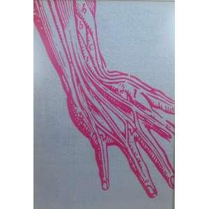 JURANDY VALENÇA - Ecce Homo (série Biblioteca Particular) - fotografia com intervenção - ass. verso - 2006 - 1/3 - 149x103 cm