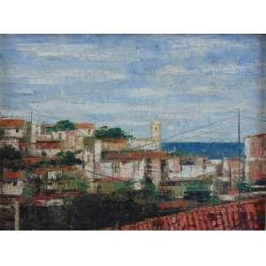 José Paulo Moreira da Fonseca - Aparência Carioca - OST - Ass. inferior direito - 1968 - 25 x 33 cm.