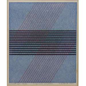 DIONISIO DEL SANTO - Permuta XIII - 46/46 - serigrafia - ass. cid - 1973 - 21x17 cm