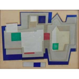 NOBORU TSURUTANI - Manhattan II - A.P. - serigrafia - ass. cid - 22x29 cm.