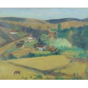 JOSÉ PANCETTI - Série Abissinia - Bairro Abissinia - Campos de Jordão - OST/CID - CID - Dat. 1949 - 38 x 46 cm.