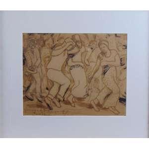 Georgina de Albuquerque - desenho - CIE - 23 x 29 cm.