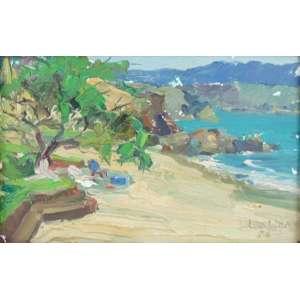Oswaldo Lobo - Paisagem OS cartão - CID - 14 x 21 cm.