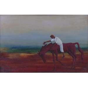 Clovis Graciano - Cavalo - OST / CIE - Datado de 69 - 27 x 40 cm.