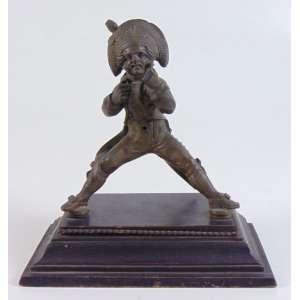 Escultura de bronze - Bobo da corte - 17 cm alt.