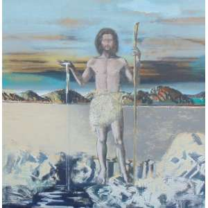 José Maria Martinez Zaragoza - São João Baptista - OST/CID - 216 x 200 cm.