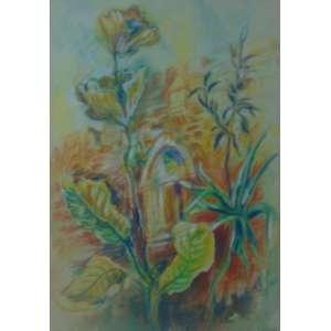 CLARE SZILARD - Natureza morta - Desenho/CID - 78 x 34 cm.