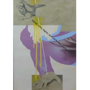 SERGIO FERRO Técnica mista sobre papel - 51 x 36 cm.