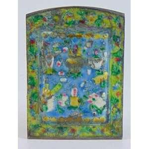 Placa de esmalte - 15 x 10 cm.