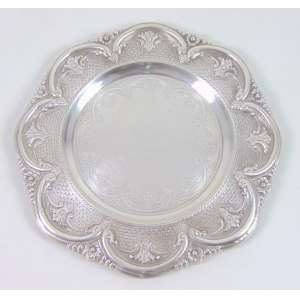 Salva de prata de lei teor 800 - 31 cm diâm