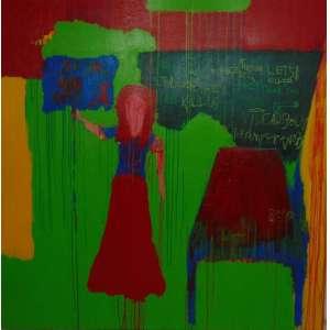 PEDRO HENRIQUE GANDRA - Sem título - acrílica sobre tela - ass. verso - 2012 - 140 x 140.