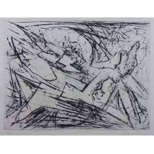 FLAVIO SHIRÓ - Composição - Gravura em metal - 24/30 - Ass. CID - 34 x 45 cm.