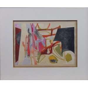 NORBERTO NÍCOLA - Sem título - Guache - Ass. CID - 1967 - 20 x 28 cm.