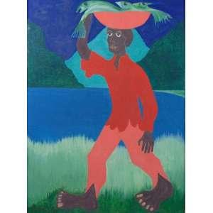 Clóvis Graciano - Pescador - OST - ass. cie - 1978 - 72x53 cm