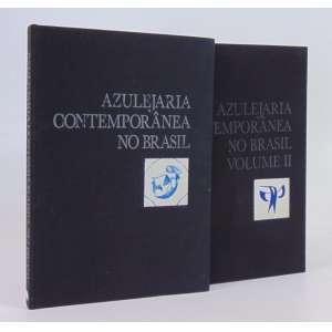 Azulejaria Contemporânea No Brasil - 2 Volumes - Frederico Morais - Editoração Publicações E Comunicações Ltda. - São Paulo 1988 - destaque para capítulo sobre a Osirarte.