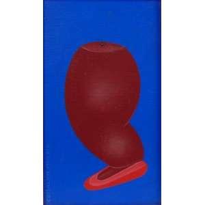 Crisaldo Morais - Ex voto - OST- Ass. CIE - Ex coleção Renee Sasson - 24 x 14 cm.