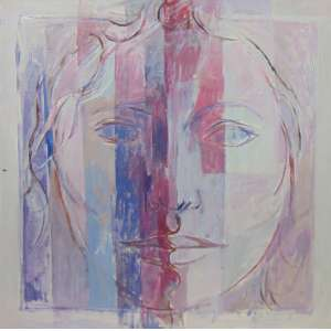 JOSÉ MORAIS - Genny - AST - Ass. verso - 1974 - 60 x 60 cm.
