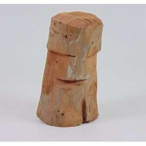 José Bezerra - Ex-voto - madeira entalhada - assinada - 16 cm alt.