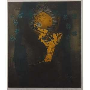Grudzinski - Primavera - gravura em metal - 17/40 - ass. cid - 1970 - 40x35 cm
