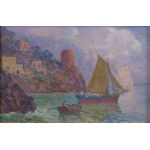 Angelo Canone - Costa Amalfitana - OSE - ass. cie - 20x30 cm.